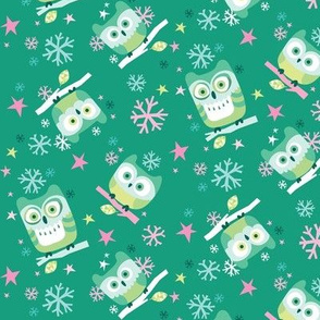 Hootin' Holidays in Small Green