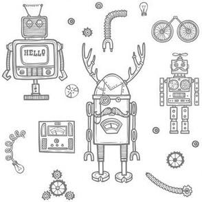 Hello Robots - Grey