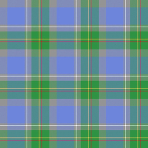 Connecticut official tartan - faded