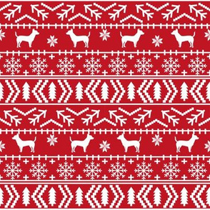 chihuahua dogs fabric cute christmas red holiday fabrics snowflakes christmas fabric chihuahuas fabric cute dogs fabric