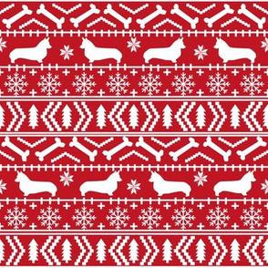corgi christmas fabric corgi dogs fabric fair isle fabrics cute dogs fabric