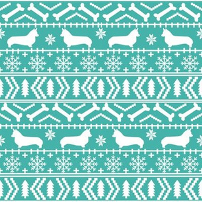 corgi christmas fabric corgi fair isle fabrics cute holiday xmas holiday fabric cute fair isles fabric
