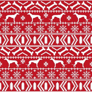 greyhound fair isle fabric cute christmas ugly sweater design christmas fabrics cute christmas holiday design