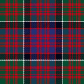 MacDonald of Clan Ranald red tartan