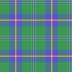 Washington official state tartan, faded