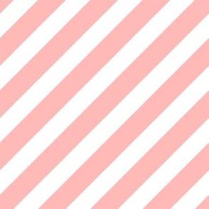 fox stripes pink stripe pink fox stripe cute fox coordinate diagonal fabric