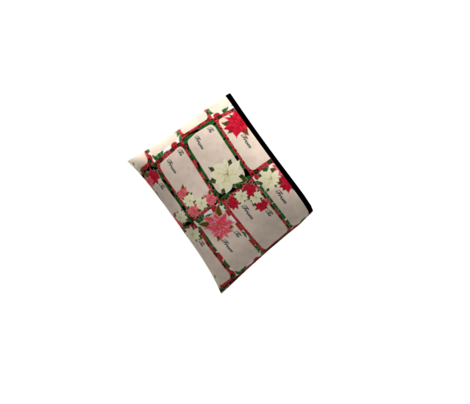 Poinsettia Christmas Gift Tags
