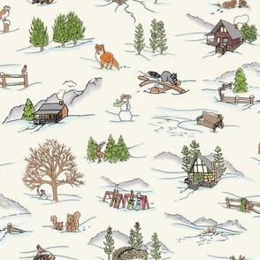 WinterWonderlandToile