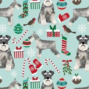 schnauzer christmas fabric christmas dogs fabric cute schnauzers fabric  christmas presents fabric cute christmas design