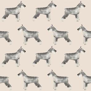 schnauzer fabric dog fabric cute dogs fabric schnauzers fabric cute dog breeds fabric dog breed fabric