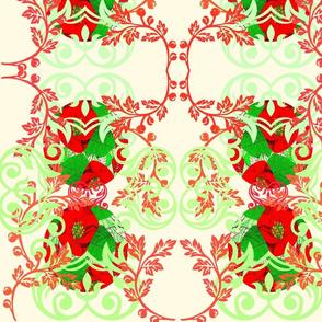 Poinsietta Decorative