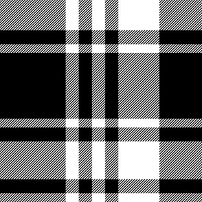 large scale - black plaid || the happy camper collection