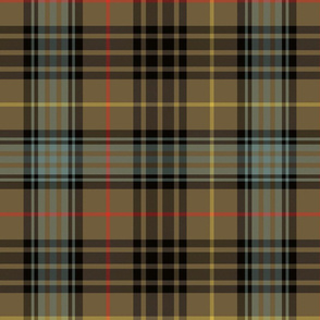 "Stewart hunting tartan - 12"" weathered"