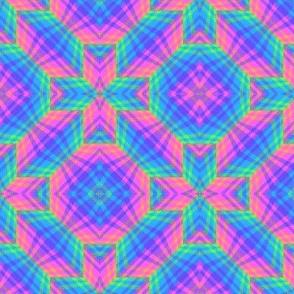 Zigzag 3D Plaid 01