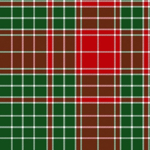 Major James Fraser tartan, 10""