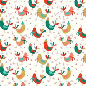 Joyful Birds