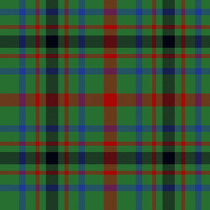 "MacDonagh tartan - 10"""