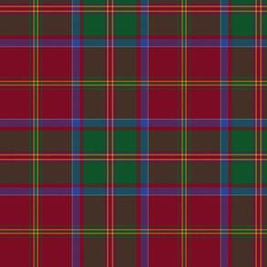 "MacDonald of Glencoe tartan - 10"""