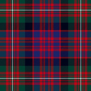 MacDonell of Glengarry red tartan