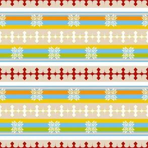 Chalet Coordinate (Stripes)