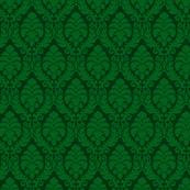 Green Damask
