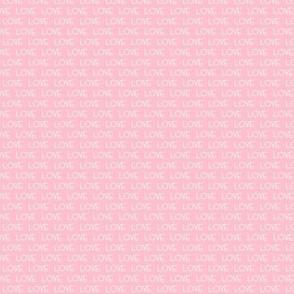 micro print love cute mini love pink text font girls bows cute love fabric