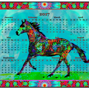 2017 CALENDARS - To Ride A Celtic Horse