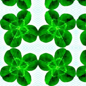 Looking Over a Four-Leaf Clover