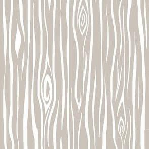 Woodgrain- small- beige/white - tan  tree  bark