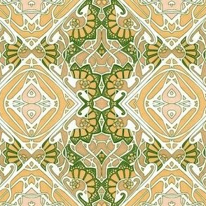 When Art Noveau and Celtic Knot Had a Baby