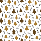 pine forest brown