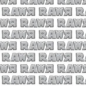 rawr in sidewalk grey