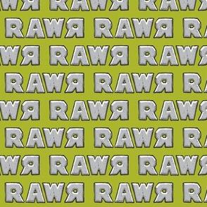 rawr on iguana green