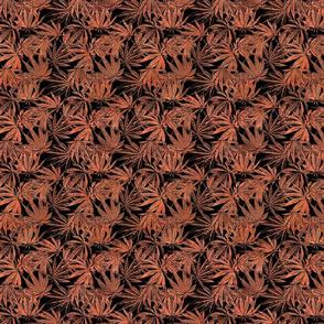 Copper Fan Leaves