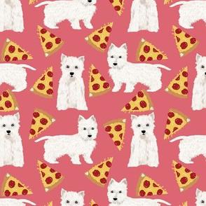 westie pizza fabric cute westie dog fabrics cute west highland terriers fabric cute pizza design