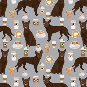 australian kelpie fabric cute coffees fabric cute coffee dog fabric australian kelpies dog fabric