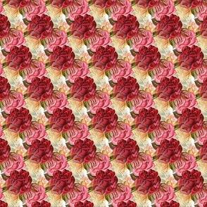 red roses - vintage