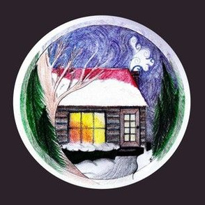 Cottage in a Bauble