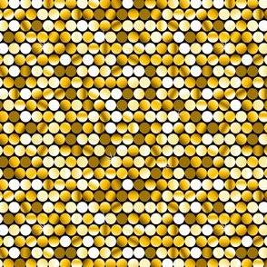 Glitter Dots (Gold)