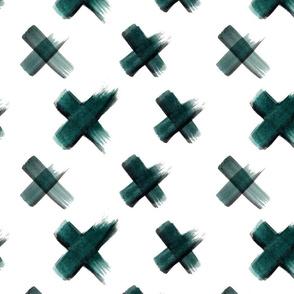 Cross_Dark Green