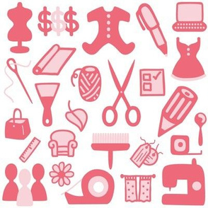 Tools of the Trade (pink)
