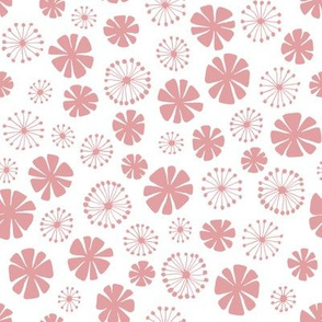 pale pink flowers - small scale
