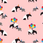 Tapir Party Pink