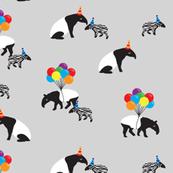 Tapir Party Grey