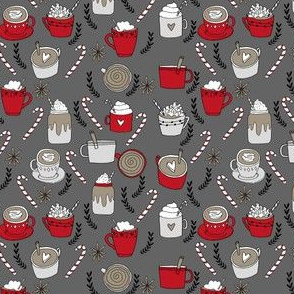 hot chocolate // christmas holiday xmas peppermint latte coffee cocoa peppermint latte