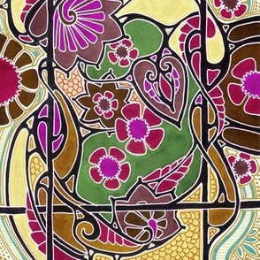 Stained Glass Jungle
