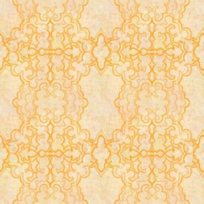 Project 157 | Gold Filigree | Cream
