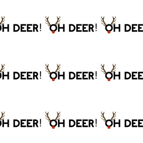 Oh Deer -  6 to 1 Yard