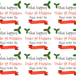 What happens under the Mistletoe - 6 to 1 Yard