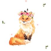 Floral Fox / Wild One